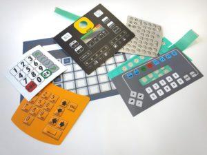 Membrana keyboards